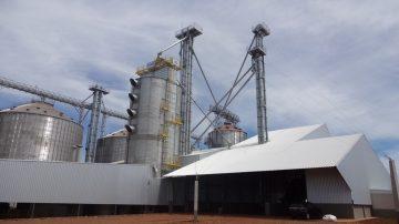 Construção de Bases para Secadores e Fornalhas